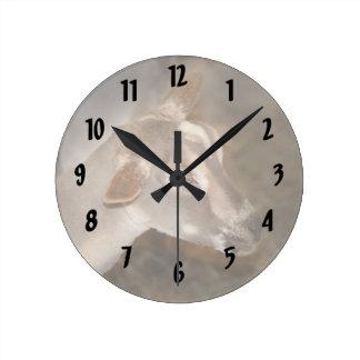 Cara rayada afeitada gama alpina de la cabra del b reloj