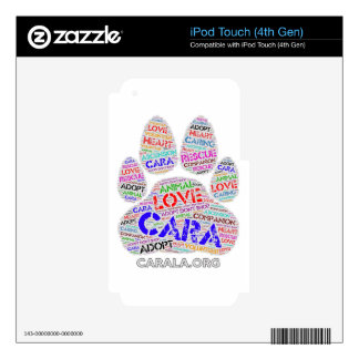 CARA Rescue iPod Touch 4G Skins