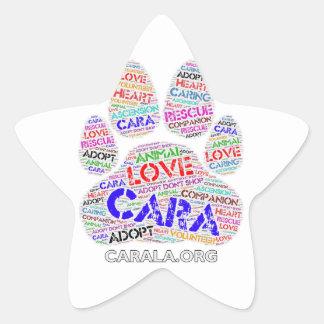 CARA Rescue Star Sticker