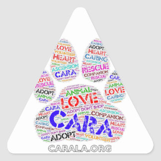 CARA Rescue Triangle Sticker