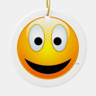 Cara sonriente 2 ornamentos de reyes magos