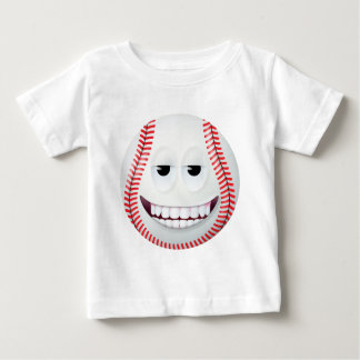Cara sonriente 2 del béisbol camisas