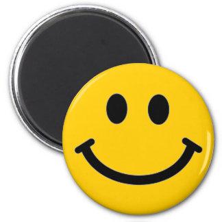 Cara sonriente adaptable Magnet* Imán Redondo 5 Cm