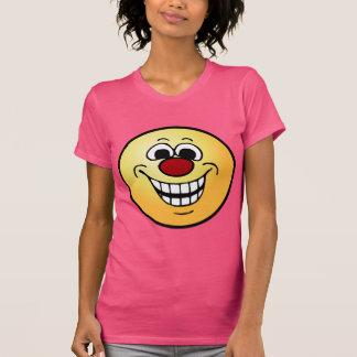 Cara sonriente alegre Grumpey Polera