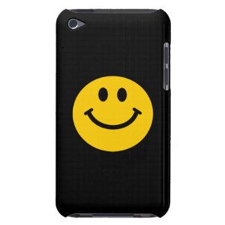 Cara sonriente amarilla barely there iPod funda