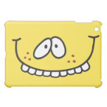 cara sonriente amarilla de los dientes divertidos