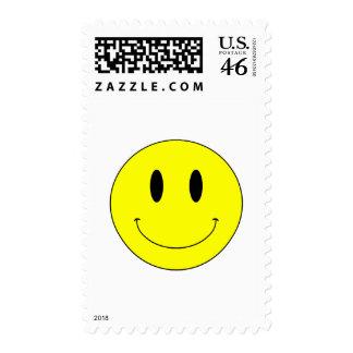 Cara sonriente amarilla del KRW Sello
