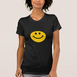 Cara sonriente amarilla playeras