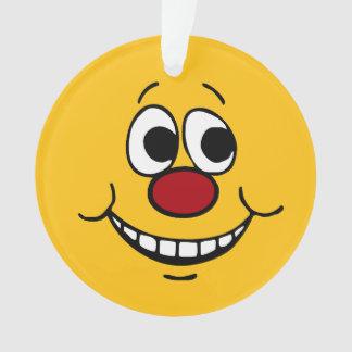 Cara sonriente asustada Grumpey