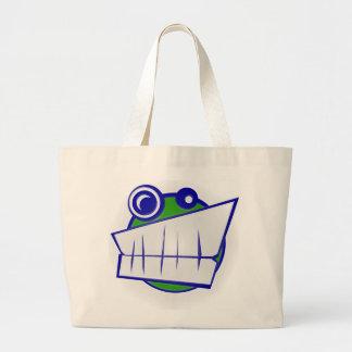 cara sonriente bolsas de mano
