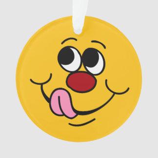 Cara sonriente codiciosa Grumpey