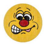 Cara sonriente contrariedad Grumpey Tabla De Cortar