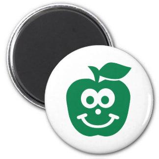 Cara sonriente de Apple Iman De Frigorífico