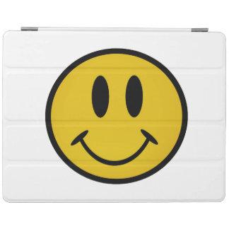 Cara sonriente de oro cover de iPad