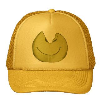 Cara sonriente derretida gorra