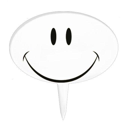 Cara sonriente figuras para tartas