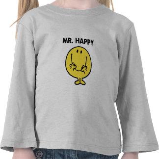 Cara sonriente gigante de Sr. Happy el   Camiseta