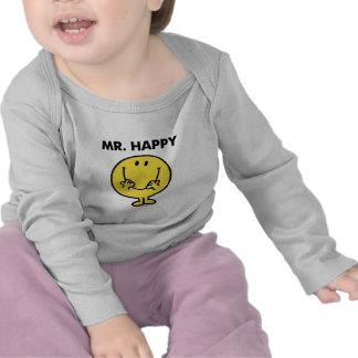 Cara sonriente gigante de Sr. Happy el | Camiseta