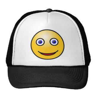 Cara sonriente gorras de camionero