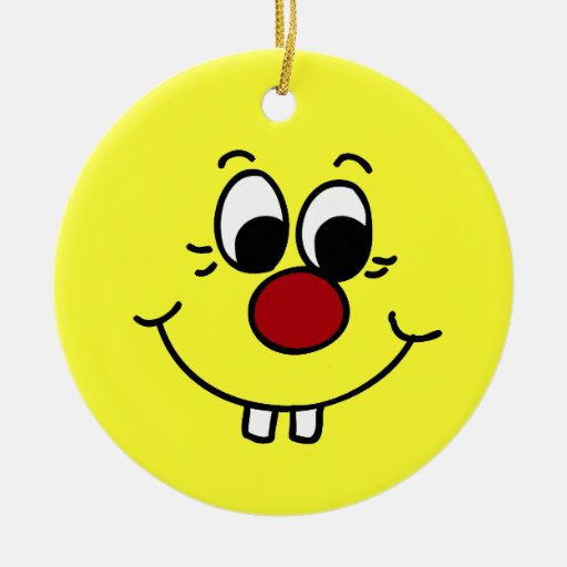 Cara sonriente Grumpey del genio Adorno Para Reyes