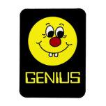 Cara sonriente Grumpey del genio Iman Flexible