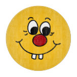 Cara sonriente Grumpey del genio Tabla De Cortar