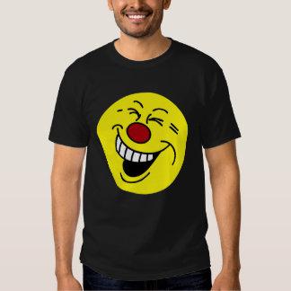 Cara sonriente loca Grumpey Playeras