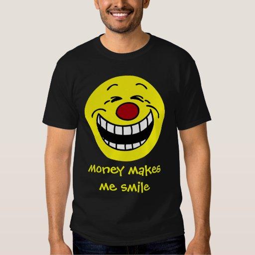 Cara sonriente mandona Grumpey Poleras
