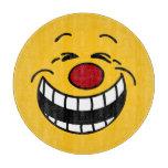Cara sonriente mandona Grumpey Tabla Para Cortar