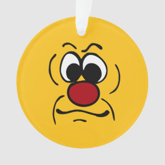 Cara sonriente melancólica Grumpey
