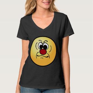 Cara sonriente melancólica Grumpey Camisas