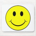 Cara sonriente Mousepad Tapetes De Ratón