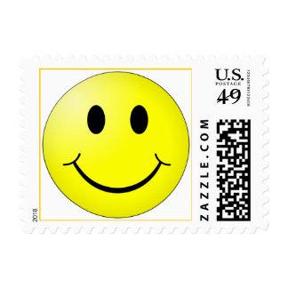 Cara sonriente original sello