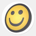 Cara sonriente pegatinas