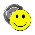 cara sonriente pin