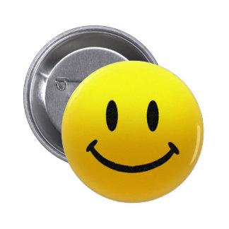 cara sonriente pin redondo 5 cm