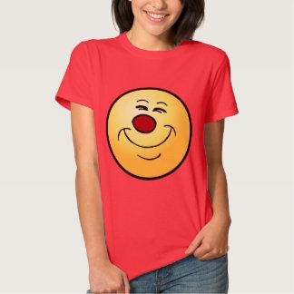 Cara sonriente presumida Grumpey Camisas