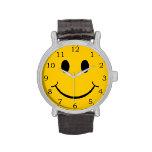 Cara sonriente relojes de pulsera