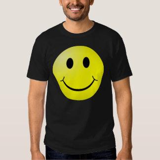 cara sonriente remera