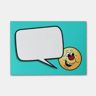 Cara sonriente sabia Grumpey Nota Post-it®