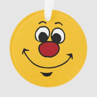 Cara sonriente sarcástica Grumpey