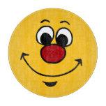 Cara sonriente sarcástica Grumpey Tabla Para Cortar