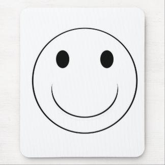 cara sonriente tapetes de ratón
