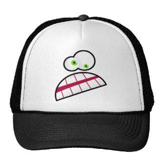 Cara subrayada gorras de camionero
