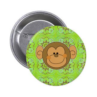 Cara tonta linda del mono pin
