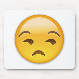 Cara Unamused Emoji Alfombrilla De Ratón