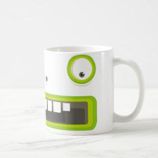 cara verde taza clásica