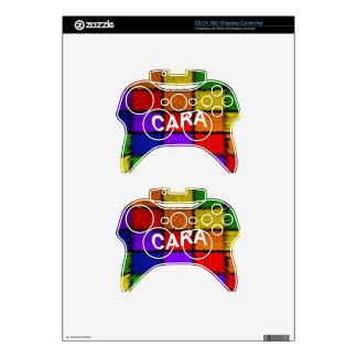 CARA XBOX 360 CONTROLLER DECAL