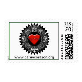 Cara y Corazon US First Class Postal Stamps