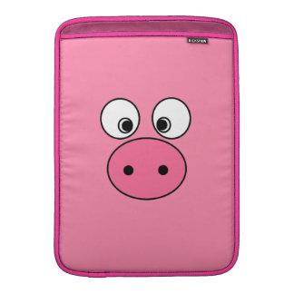 ¡Cara y vago rosados del cerdo! Fundas Macbook Air
